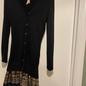 Bailey 44. B44 Dress cardigan style sweater dress